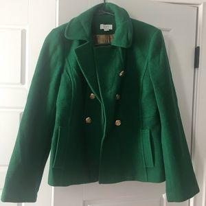 Loft pea coat